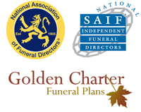 NAFD, SAIF and Golden Charter logos